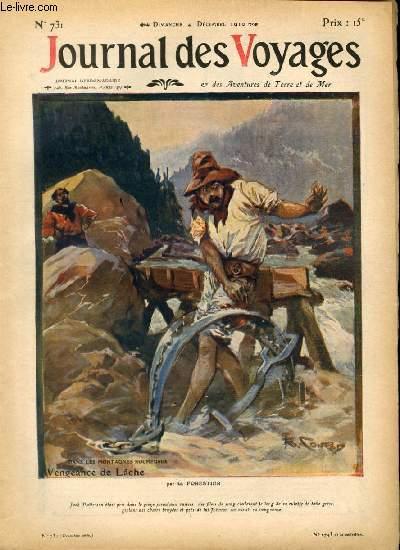 Deuxième série - N°731 - Dans les montagnes rocheuses: vengeance de lâche par G. Forestier.