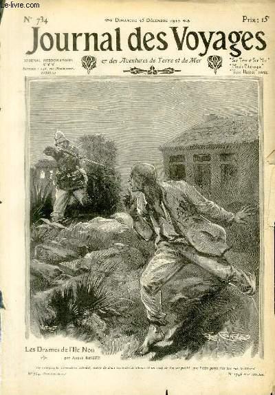Deuxième série - N°734 - Les drames de l'île Nou - pauvre petit gars de Goméné par André Reuzé.