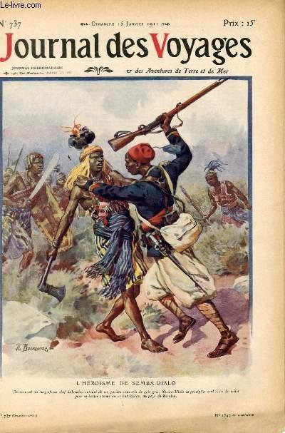 Deuxième série - N°737 - L'héroïsme de Semba Dialo par Jean Renaud.