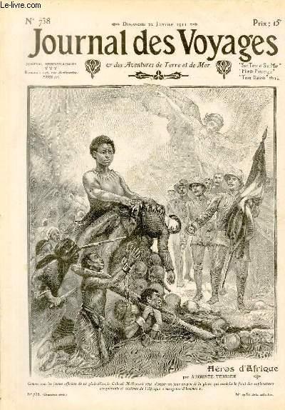 Deuxième série - N°738 - Héros d'Afrique: le colonle Moll par Auguste Terrier.