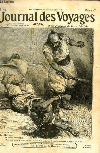Deuxième série - N°741 - Scènes de la vie arabe: La matraque apr Georges Brousseau.