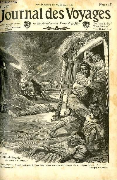 Deuxième série - N°747 - La peste en Mandchourie par André Charmelin.