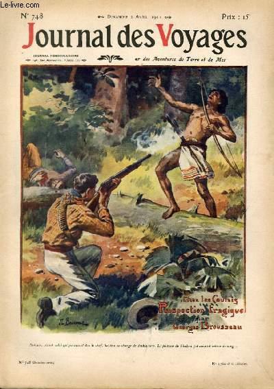 Deuxième série - N°748 - Chez les Indiens Coulais du Haut Maroni pâr Georges Brousseau.