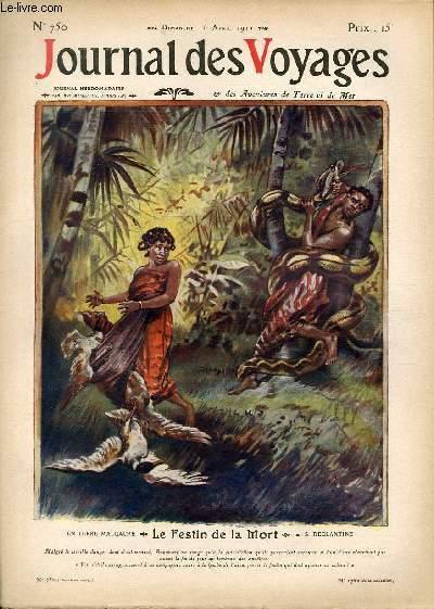 Deuxième série - N°750 - Le festin de la mort en terre malgache par S. Déglantine.