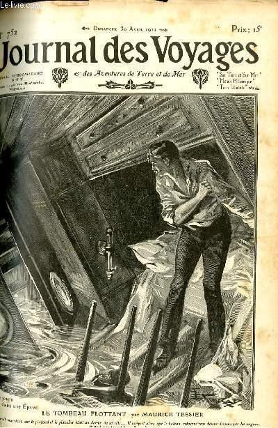 Deuxième série - N°752 - Douze jours dans une épave: le tombeau flottant par Maurice Tessier.