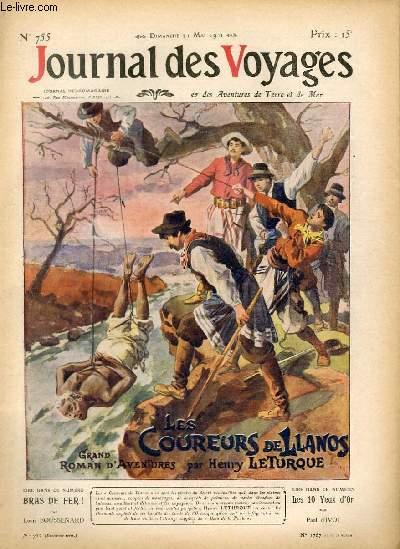 Deuxième série - N°755 - Les coureurs de Llanos par Henry Leturque, à suivre.