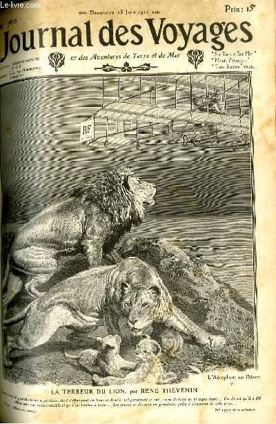Deuxième série - N°760 - La terreur du lion par René Thévenin.