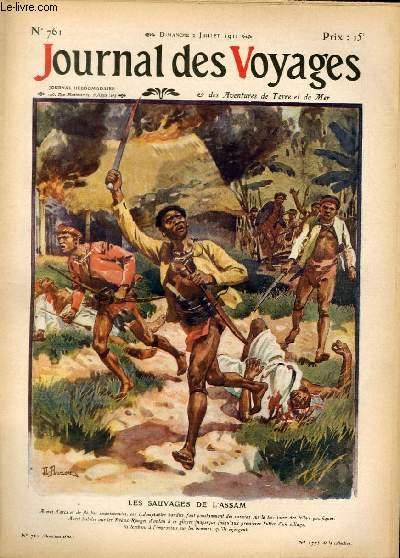 Deuxième série - N°761 - Les sauvages de l'Assam par Victor Forbin.
