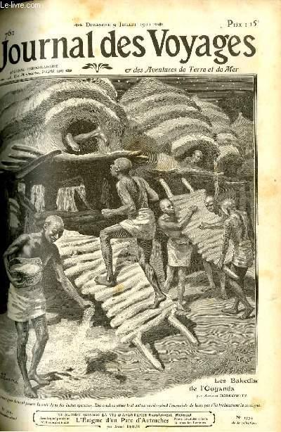 Deuxième série - N°762 - Les bakedis de l'Ouganda par Arnold Boscowitz.