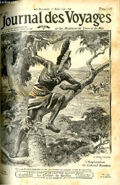 Deuxième série - N°767 - Le Brésil inconnu: l'exploration du colonel Rondon par René Boismont.