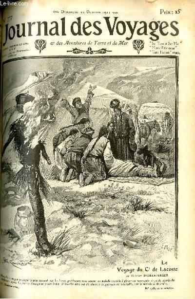Deuxième série - N°777 - Le voyage du commandant de Lacoste (au pays des hordes mongoles et turques) par Gustave Regelsperger.
