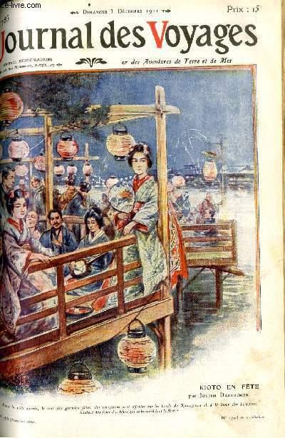 Deuxième série - N°783 - Kioto en fête (rives du Kamogawa) par Joseph Dautremer.