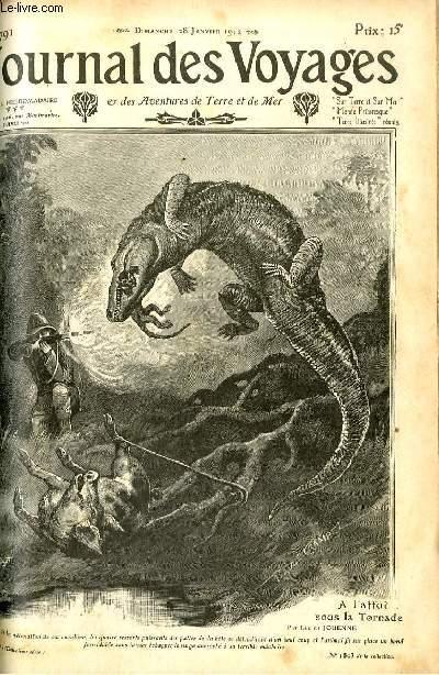 Deuxième série - N°791 - A l'affut sous la tornade par Lucien Jouenne.