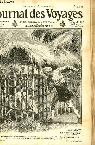 Deuxième série - N°795 - Le smystères de la Malaisie - le tigre Garou par Victor Forbin.