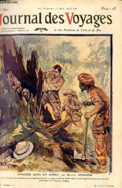 Deuxième série - N°861 - Emmuré dans un arbre par MAurice Dekobra.