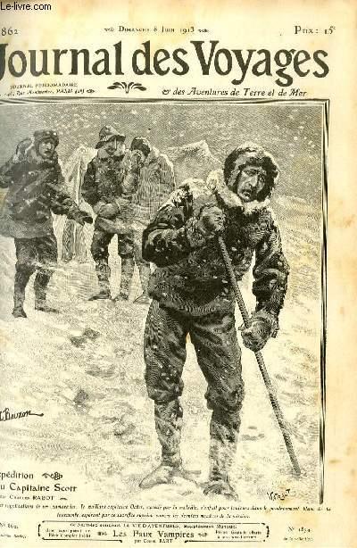 Deuxième série - N°862 - L'expédition du capitaine Scott  - morts en héros par Charles Rabot,suite et fin.