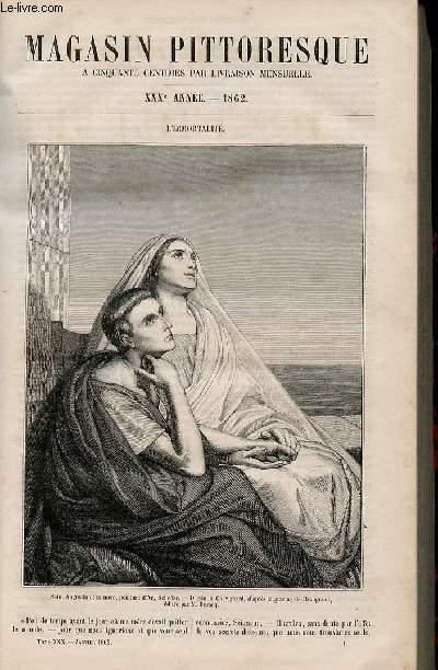 LE MAGASIN PITTORESQUE - Livraison n°001 - L'immortalité.