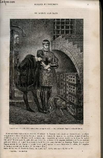 LE MAGASIN PITTORESQUE - Livraison n°002 - Le cardinal Jean Balue.