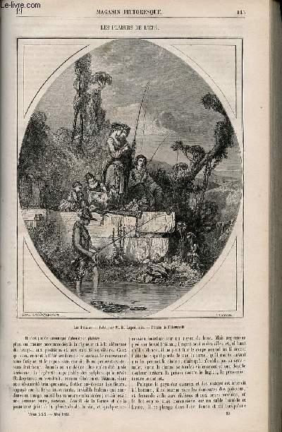 LE MAGASIN PITTORESQUE - Livraison n°019 - Les plaisirs de l'été.