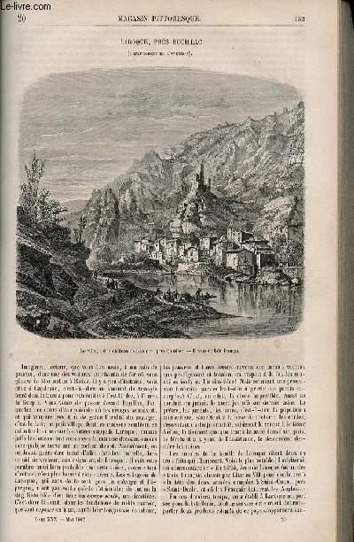 LE MAGASIN PITTORESQUE - Livraison n°020 - Laroque près Bouillac (Aveyron).