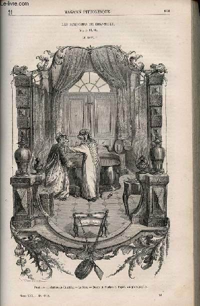 LE MAGASIN PITTORESQUE - Livraison n°021 - Les singeries de Chantilly,suite - Le bain.
