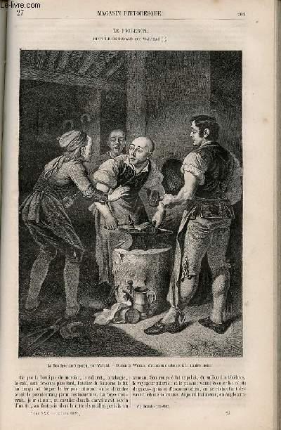 LE MAGASIN PITTORESQUE - Livraison n°027 - Le forgeron, histoire de Donald du Marteau.