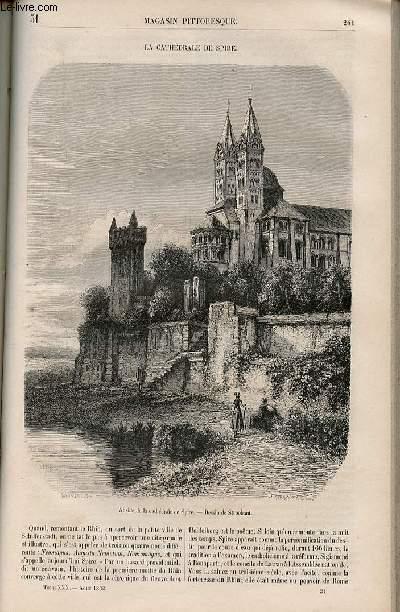 LE MAGASIN PITTORESQUE - Livraison n°031 - La cathédrâle de Spire.