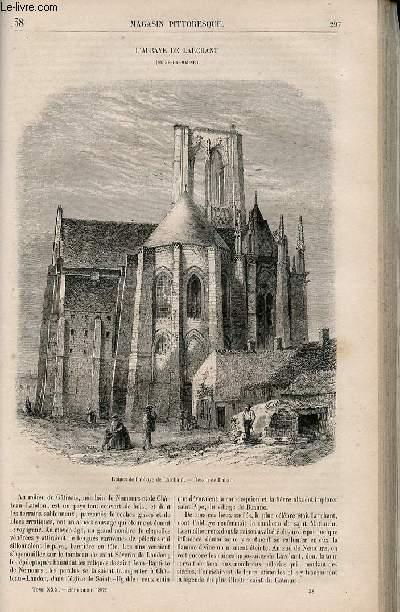 LE MAGASIN PITTORESQUE - Livraison n°038 - L'abbaye de Larchant (Seine et Marne).