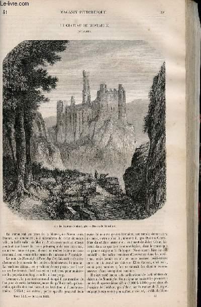 LE MAGASIN PITTORESQUE - Livraison n°041 - Le château de Montaigle (Belgique).