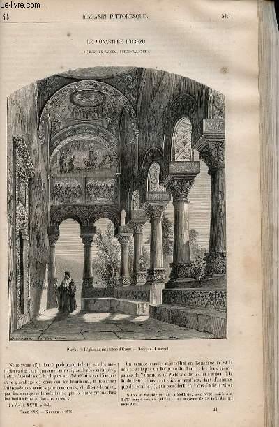 LE MAGASIN PITTORESQUE - Livraison n°044 - Le monastère d'orezu (district de Valcea, Petite Valachie).