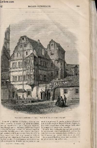 LE MAGASIN PITTORESQUE - Livraison n°047 - Ancien archevêché de Bamberg (bavière).