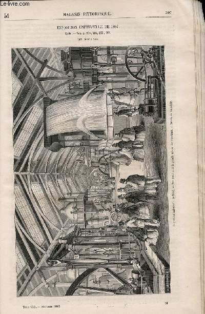 LE MAGASIN PITTORESQUE - Livraison n°051 - Exposition universelle de 1862,suite - Les machines.