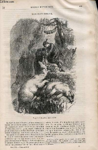 LE MAGASIN PITTORESQUE - Livraison n°052 -Marguerite Roberval.