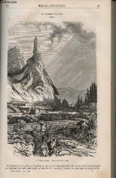 LE MAGASIN PITTORESQUE - Livraison n°011 - Le villard de lans (Isère).