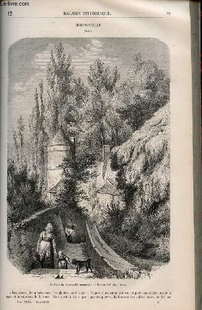 LE MAGASIN PITTORESQUE - Livraison n°012 - Ermenonville (OIse).