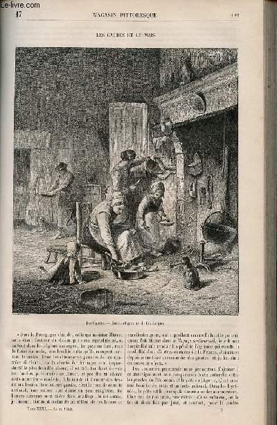 LE MAGASIN PITTORESQUE - Livraison n°017 - Les gaudes et le maïs.