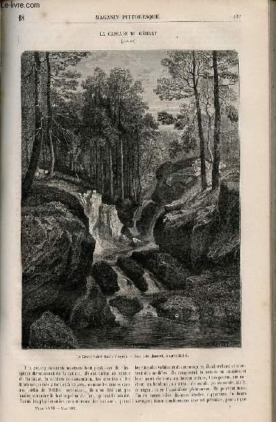 LE MAGASIN PITTORESQUE - Livraison n°018 - La cascade de Géhart (Vosges).