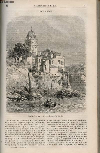 LE MAGASIN PITTORESQUE - Livraison n°019 - Visite à Gênes.