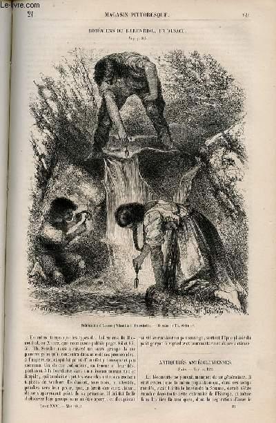 LE MAGASIN PITTORESQUE - Livraison n°021 - Bohémiens du Baerenthal en Alsace.