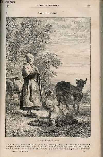 LE MAGASIN PITTORESQUE - Livraison n°023 - Vaches et vachères.