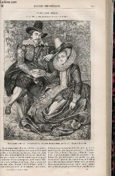 LE MAGASIN PITTORESQUE - Livraison n°040 - Pierre Paul Rubens.