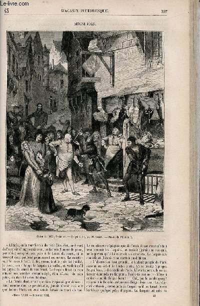 LE MAGASIN PITTORESQUE - Livraison n°043 - Seigni Joan.