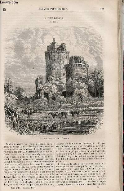 LE MAGASIN PITTORESQUE - Livraison n°045 - La tour d'Elven (Morbihan).