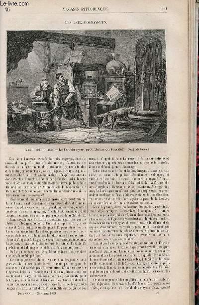 LE MAGASIN PITTORESQUE - Livraison n°046 - Les faux monnayeurs.