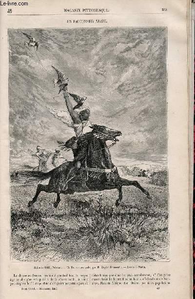 LE MAGASIN PITTORESQUE - Livraison n°049 - Un fauconnier arabe.