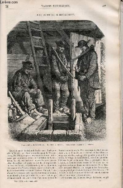 LE MAGASIN PITTORESQUE - Livraison n°051 - Mine de bitume de Bechelbronn.