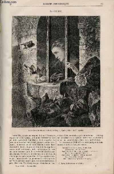 LE MAGASIN PITTORESQUE - Livraison n°005 - La captive.
