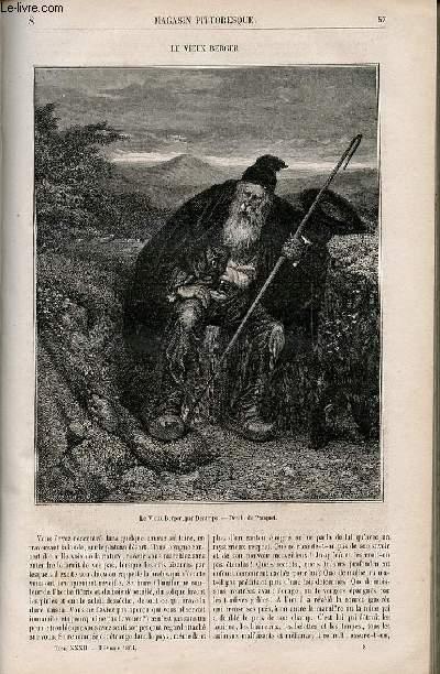LE MAGASIN PITTORESQUE - Livraison n°008 - Le vieux berger.