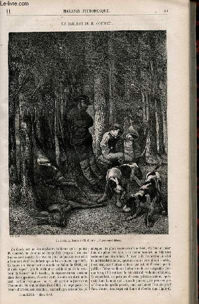 LE MAGASIN PITTORESQUE - Livraison n°011 - Un tableau de M. Courbet.
