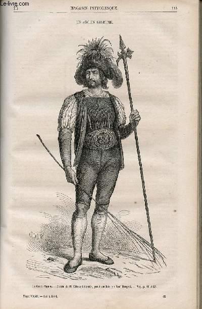 LE MAGASIN PITTORESQUE - Livraison n°015 - Un ancien costume.